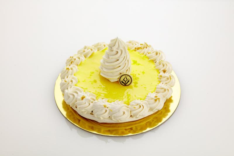Flourless Lemon Meringue
