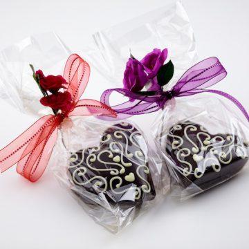 Handmade Chocolate Heart Box