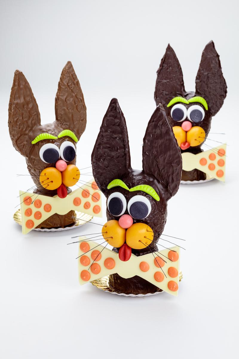 Handmade Chocolate Bunny