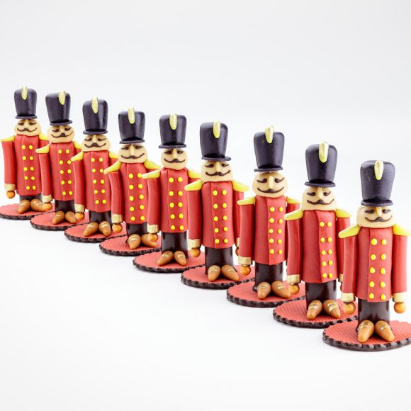Marzipan Soldiers
