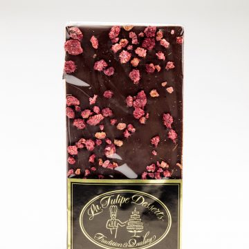 Manjari Dark Chocolate with Raspberries