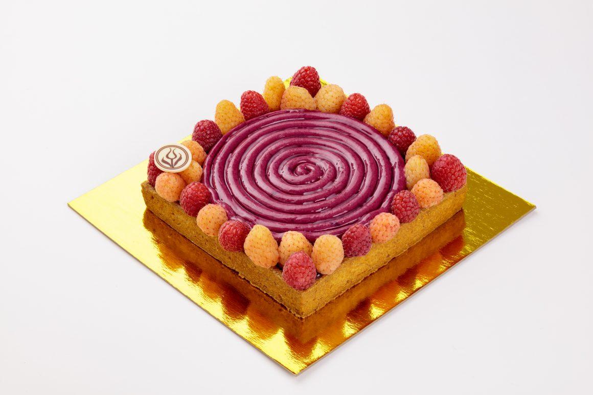 Raspberry Fields Tart