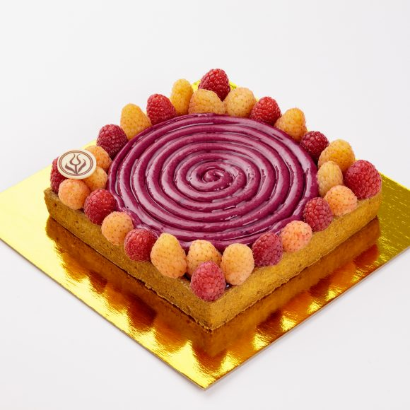 Raspberry Fields Tart