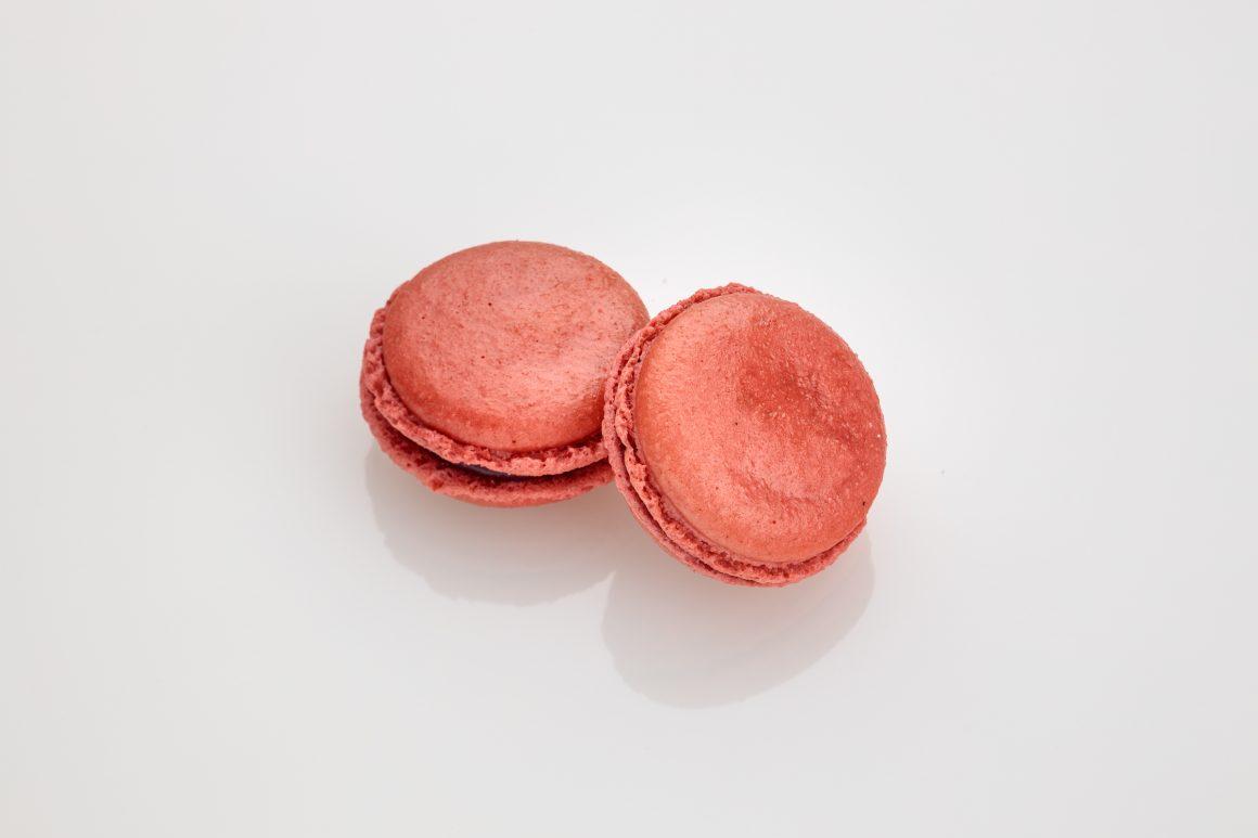 Sour Cherry Macaron
