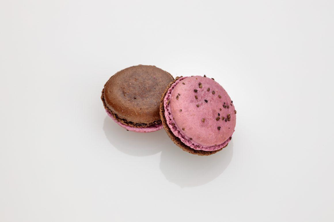Chocolate Raspberry Macaron