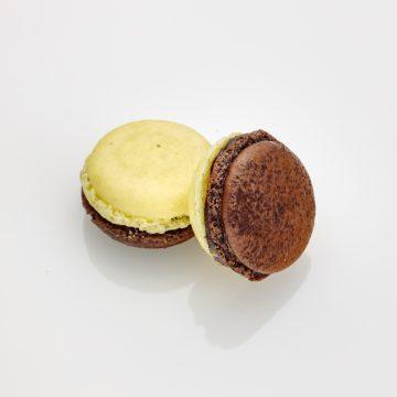 Chocolate Caramel Macaron