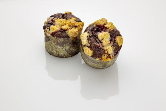 Chocolate Raspberry Muffin