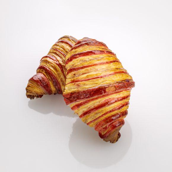 Raspberry Croissant