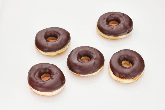 Chocolate Hazelnut Doughnuts