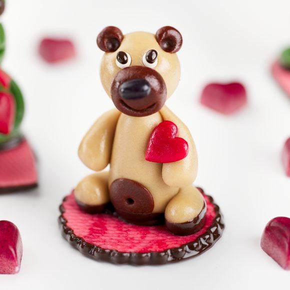 Marzipan Teddy Bear
