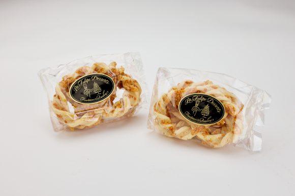 Gruyere Black Pepper Cheese Pretzels